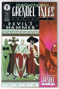 GRENDEL TALES #3, Devil's Hammer, NM+, Matt Wagner, Prime, more in store