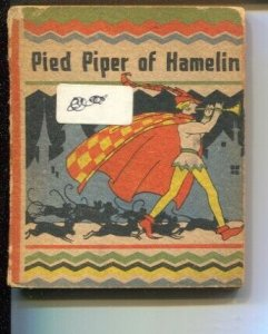 Pied Piper Of Hamelin #513 1934-Wee Little Books-G