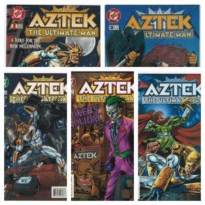 Aztek #1-10 (DC, 1996-1997)
