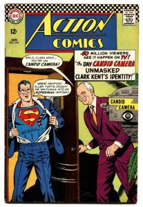ACTION COMICS #345 comic book-SUPERMAN-CANDID CAMERA-ALAN FUNT