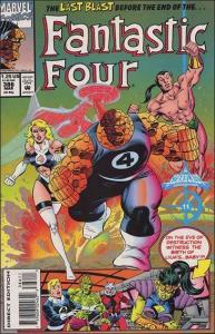 Marvel FANTASTIC FOUR (1961 Series) #386 NM-