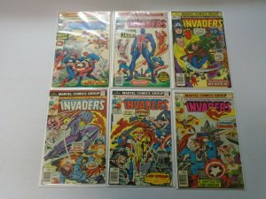 Invaders lot 18 different from #6-41 + Specials avg 4.0 VG (1976-79 1st Series)
