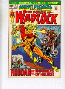 Marvel Premier #2 (May-72) FN/VF Mid-High-Grade Warlock