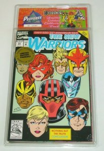 Treat Pedigree Collection: New Warriors VF/NM limited edition pack 22 23 24 25