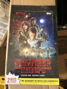 2018 Topps Stranger Things Season 1 Sealed and Unopened Season 4 coming soon!
