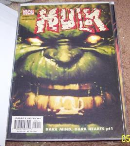 incredible hulk  # 50 2003 marvel vol 2 dark mind dark heart  AVENGERS