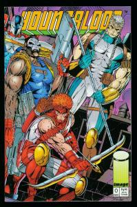 YOUNGBLOOD #0 1992 - SIGNED by MIKI FRAGA HATHAWAY & STEPHENSON - IMAGE - NM