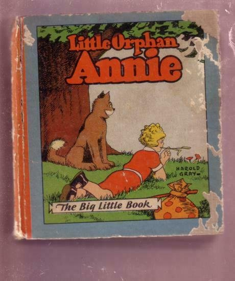 LITTLE ORPHAN ANNIE-HAROLD GRAY-1933-2ND BLB #708--RARE G+