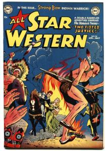 ALL STAR WESTERN #58 1951-DC-1ST ISSUE-1ST TRIGGER TWINS-1ST STRONG BOW-vf-