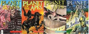 PLANET OF THE APES (1990 AD) 1-4  complete story arc!