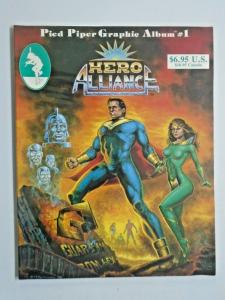 Hero Alliance End of the Golden Age #1 - GN - see pics - 8.0 - 1986