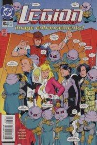 Legion of Super-Heroes (1989 series) #63, VF (Stock photo)