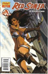 Red Sonja #24 (Dynamite) - David Michael Beck Cover