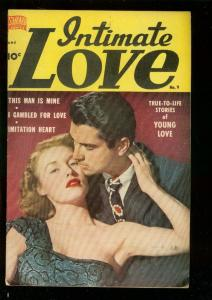 INTIMATE LOVE #9 1950-PHOTO COVER-STEPHEN FOSTER STORY VG