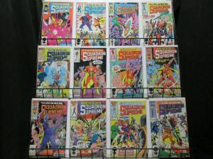 SQUADRON SUPREME (1985-1986) 1-12  'JLA' the Marvel way