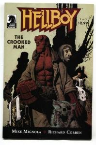 Hellboy: The Crooked Man #1 2008 - Dark Horse - comic book NM-