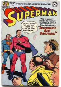 SUPERMAN #80 1953-DC COMICS-SUPERMAN'S BROTHER-GOLDEN-AGE