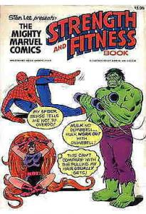 Mighty Marvel Comics Strength and Fitness Book TPB #1 FN; Marvel | save on shipp