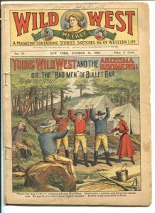 Wild West Weekly #52 10/16/1903-Young Wild West & The Arizona Boomers-FR