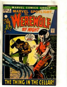 Marvel Spotlight # 3 FN/VF Comic Book Feat. Werewolf By Night Mike Ploog Art RS1