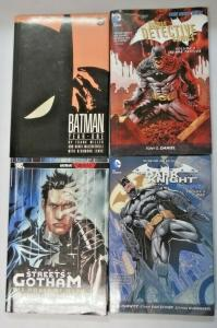 Batman Hardcover lot 4 different books used (years vary)