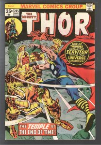 EVERYTHING SALE!THOR 245 VFNM ! 1st APP He Who remainsTIME VARIANCE AUTHORITY!