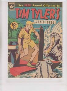 Tim Tyler's Adventures #22 FN page comics - popeye thimble theatre back-up 1966