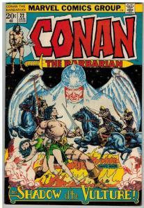 CONAN THE BARBARIAN 22 VG+ Jan. 1973