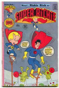 Super Richie #4 1976- Harvey Comics Richie Rich FN