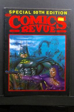 Comics Revue #50 1990 Phantom & Batman Cover