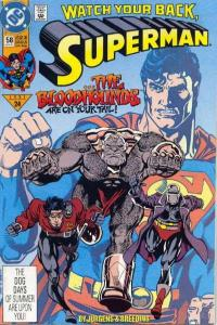 Superman (1987 series) #58, NM (Stock photo)