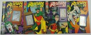 Robin II: the Joker's Wild! #1-4 VF+ complete series - chuck dixon - hologram