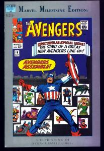 MARVEL MILESTONE EDITION: AVENGERS #16-FIRST New Avengers-1993