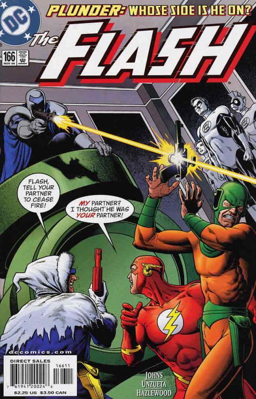 Flash (2nd Series) #166 VF/NM; DC | save on shipping - details inside