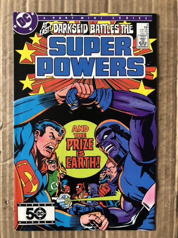 Super Powers #6 (1986)