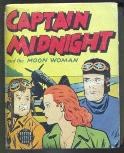 Capt Midnight & The Moon Woman #1452 1942-Little Big Book-VG-