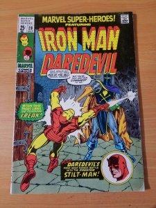 Marvel Super-Heroes #28 ~ FINE - VERY FINE VF ~ (1970, Marvel Comics)
