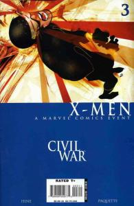 Civil War: X-Men #3 FN; Marvel | save on shipping - details inside