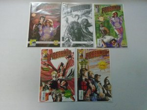 Freshmen lot 10 different 8.0 VF (2005-07 Top Cow)