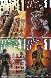 TASK FORCE ONE (2006 IMAGE) 1-4  complete series!
