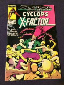 Marvel Comics Presents #23 Cyclops of X-Factor FN (1989)