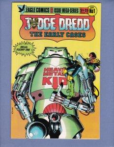 Judge Dredd The Early Cases #1 NM Eagle Comics 1986