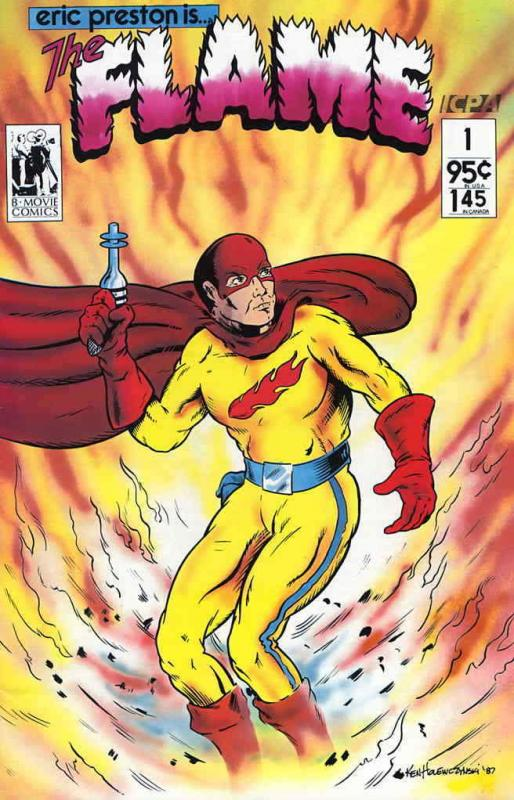 Eric Preston Is the Flame #1 VF/NM; B-Movie | save on shipping - details inside