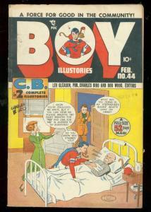 BOY COMICS #44 1949-CHARLES BIRO-BOB WOOD-NORMAN MAURER FN-