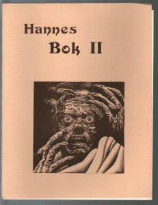 Hannes Bok Portfolio II 1975-Gene Nigra-limited to 1250 copies-8 B&W plates-FN