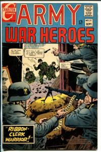 Army War Heroes #21 1967-Charlton-Hitler-Viet Nam-VG+