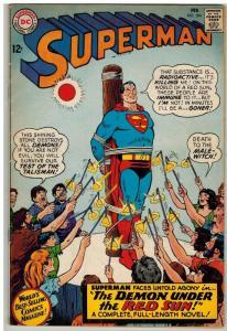 SUPERMAN 184 VG Feb. 1966