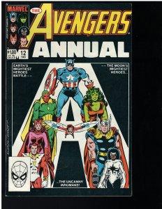 Avengers #12 Annual (Marvel, 1983)