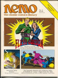 Nemo The Classic Comics Librery #4 1983-Flash Gordon-Warren Tufts-FN/VF