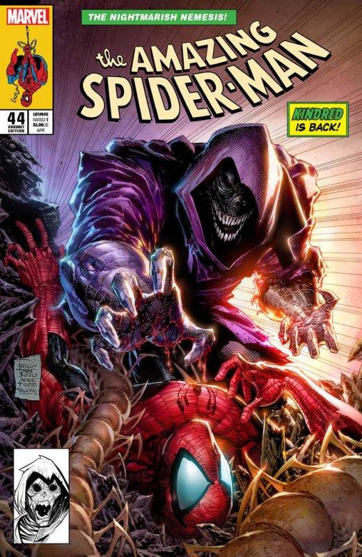 AMAZING SPIDER-MAN #44 PHILIP TAN EXCLUSIVE